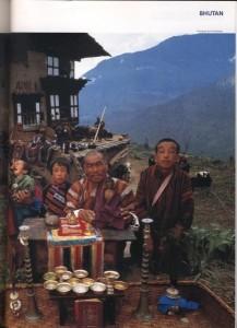 ブータンの家族