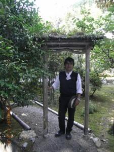 この門、草葺き、感動、自然と建築の融合