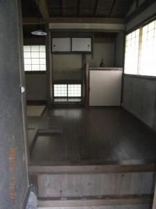 床の間と玄関