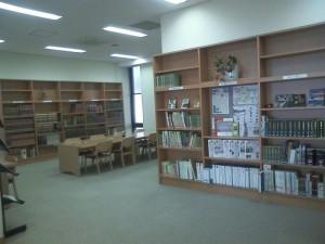 支所が蒲生図書館に