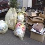 ドイツのゴミ収集日