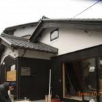 焼き板と漆喰は日本の定番