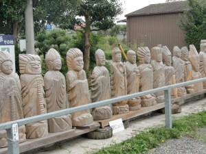 岐阜といえば円空さんが有名です。これは偽作