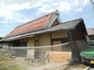 古い家を古いまま直す
