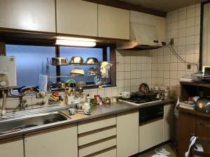改装前のキッチン